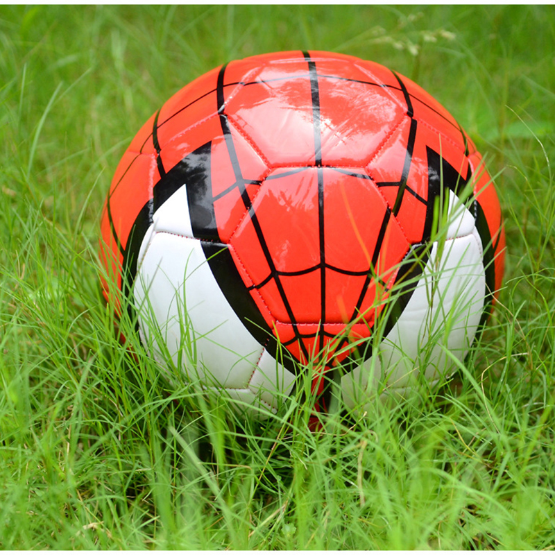 22cm Cartoon Design Official size 5 Football Soccer Ball Goal League Outdoor Sport Ball Stitching Ball For Kids Random Color