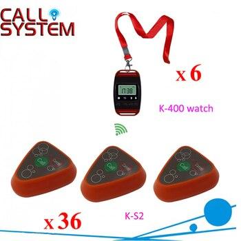 Ycall Услуги оборудования 6 часы 36 передатчики Ресторан порядок устройства