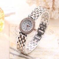 2018 새로운 스타일의 여성 손목 시계 럭셔리 드레스 여성 캐주얼 드레스 시계 작은 시간 시계 선물 간단한 시계 여자