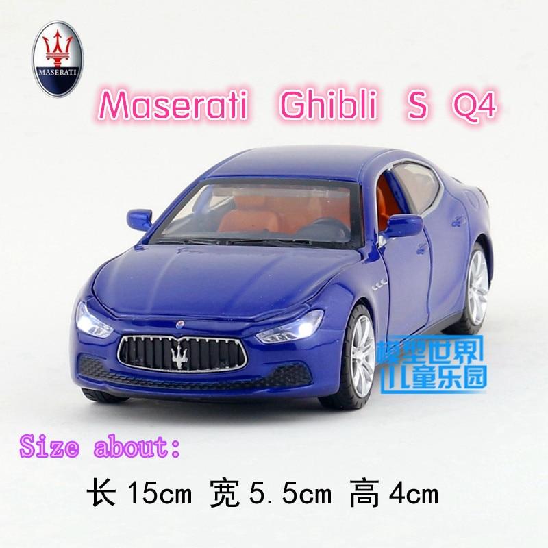 1:32/моделирования литья под давлением модель игрушки car/Maserati Ghibli S Q4/имеют освещение и музыка/для детей подарки или Коллекция/задерживаете ...