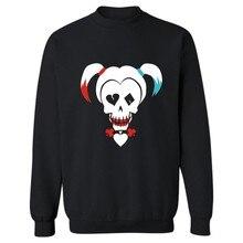 Hot sale High Quality font b Suicide b font font b Squad b font Fashion Sweatshirt