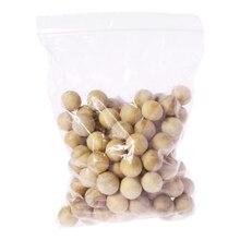 100 шт натуральные шарики из кедрового дерева от моли Camphor Repellent шкаф для одежды ящик автомобиля ванной комнаты