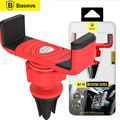 BASEUS Car Air Vent Holder Universal Phone Car-styling Mounts Stand Lazy Accessories Cars Grip Smartphone GPS Cradle Bracket New