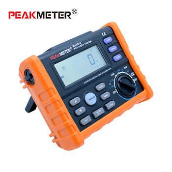 PEAKMETER MS5910 Digital resistance meter RCD loop resistance tester Multimeter for GFCI Loop resistance testing