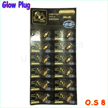 Newst Gold plated version 100 Original OS NO 8 O S OS8 medium plug N Glow