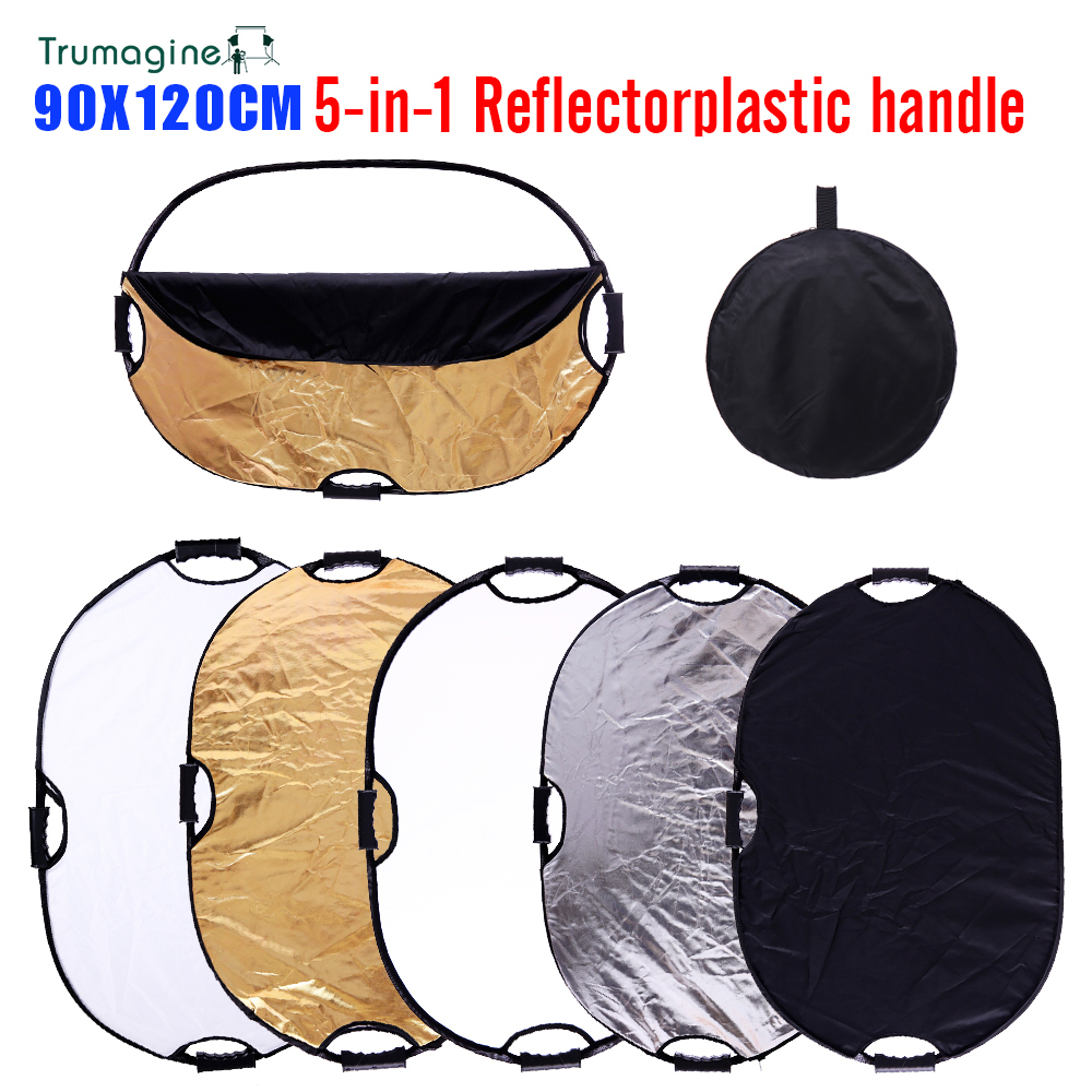 35x47inch 90x120cm Photography reflector 24x35 5in1 Light Mulit Collapsible Portable Photo Reflector Studio Lighting Control