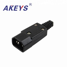 6PCS  WD-10 High quality Universal plug Socket AC Power Inlet