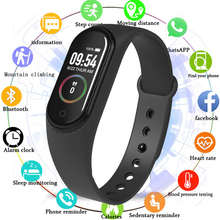 M4 Smart Band 4 Fitness Tracker Watch Blood Pressure Fitness Bracelet Heart Rate Monitor Pedometer Health Wristband PK Mi Band 4 itormis smart band wristband fitness bracelet with fitness tracker heart rate pedometer blood pressure pk id115 miband mi band 2