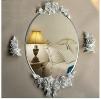 Porta do banheiro de vidro .. espelho banheiro Rural. espelho de prata pura
