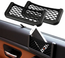 Universal Car Seat Side Back Net Storage Bag Phone Holder Pocket Viechle Door Organizer for iPhone 5 6 6S Samsung Huawei Xiaomi