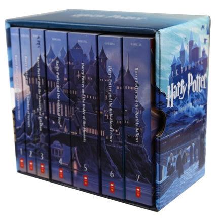 Coffret 7 livres J.K. Rowling Harry Potter livre Collection série édition commémorative histoire anglaise roman livre adulte enfants