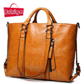 BVLRIGA Women bag women leather handbags shoulder bag high quality women messenger bags handbag women famous brands bolsos