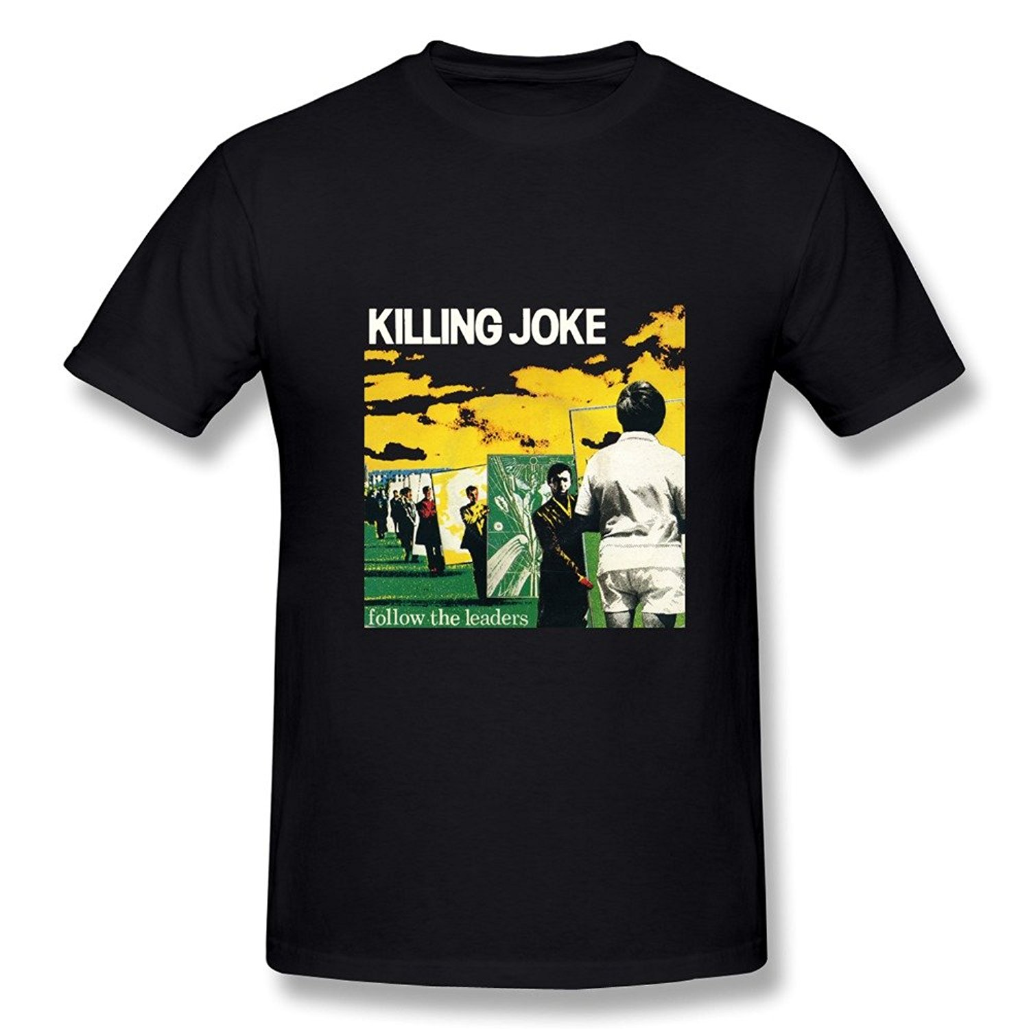 New Killing Joke Wardance Pssyche Punk Band Mens White T-Shirt Size S To 3XL 100% Cotton Men Women T Shirt Tees