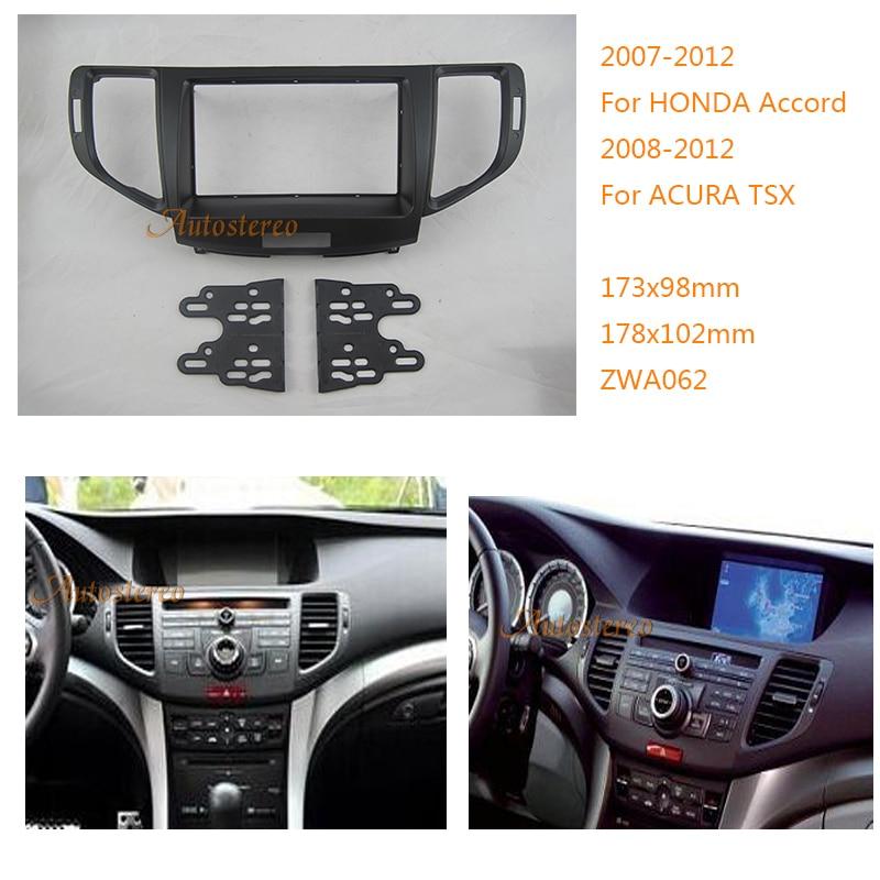 Car Radio Fascia For HONDA Accord 2007 2012,ACURA TSX 2008