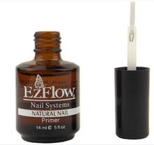 EM–99 New 2Pc 14ML Ezflow Natural Nails Primer Nail Art Tool Products Acrylic Base Coat For UV GEL & Acrylic Tips