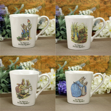 Peter Rabbit Cute Cartoon Large Mug Creative Ceramic Coffee Milk Tea Cup Offfice Travel Gifts Cups And Mugs Drinkware
