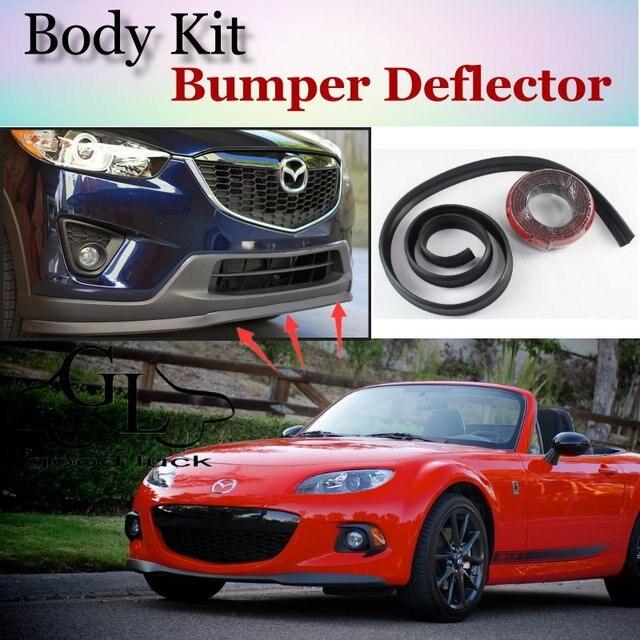 US $25 14 30% OFF|For Mazda MX 5 MX5 MX 5 Miata Eunos Roadster Bumper Lip /  Front Spoiler Deflector For Car Tuning / Body Kit / Strip Skirt-in