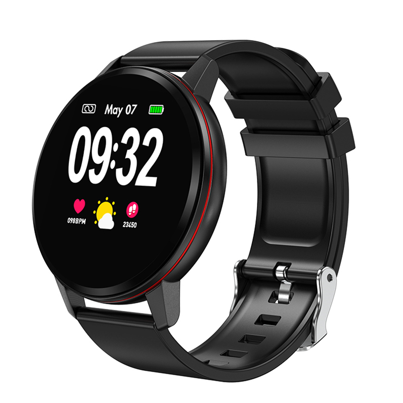 Full Touch Screen Smart Watch Band Fitness Bracelet Heartrate Blood Pressure Tracker Men Women Wristwatch For Android iOS Xiaomi
