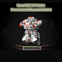 Xiaomi MITU Robot DIY Mobile Phone Remote Control Self assembled Robot Building Block Toy for Children Cool Builder Robot
