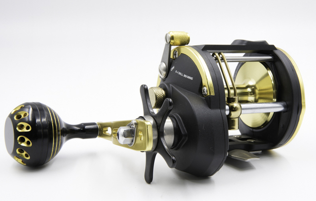 US $69 95 |NEW SINGNOL TROLLING REEL STC 40 GOLD SALTWATER FISHING REEL  CONVENTIONAL REEL SURF FISHING-in Fishing Reels from Sports & Entertainment  on