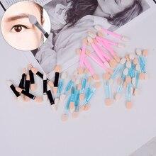 Makeup Tool 10Pcs/Pack Stick DIY Beauty Styling Women Cosmetic Double-head Shadow Sponge Eyeshadow Brush