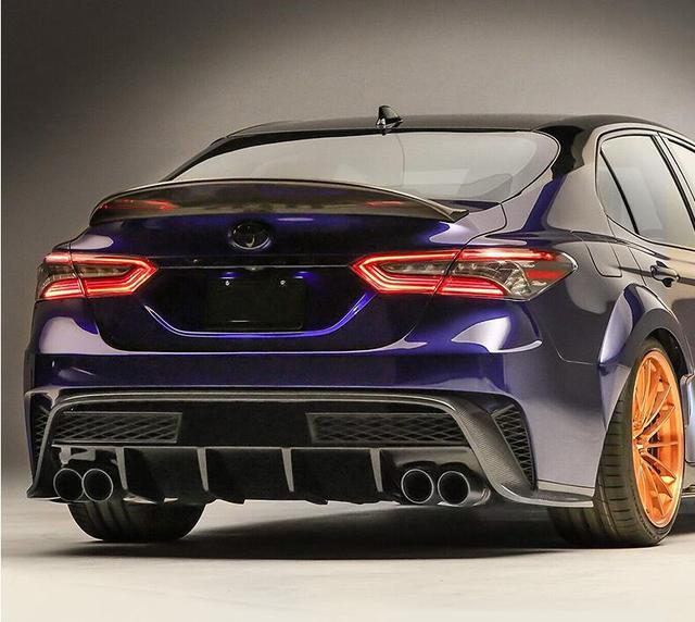Jioyng Carbon Fiber Car Rear Wing Trunk Lip Big Spoiler For 18 19