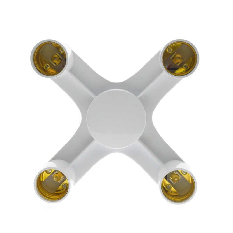 1 in 3  1 in 4  1 in 5 Lamp Holder Converters E27 to E27 Base Socket Splitter LED Light Lamp Bulb Adapter Holders
