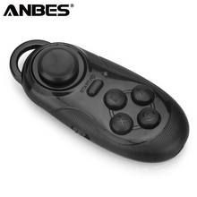 ANBES Bluetooth Universal Smart Remote Control Mini Gamepad PC Joystick Selfie Shutter Wireless Mouse For iOS