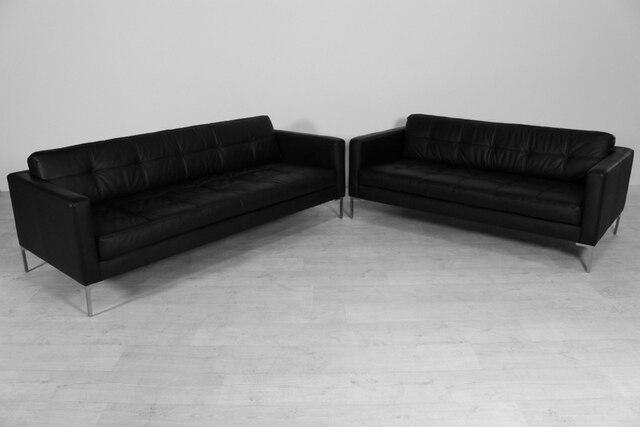 Unique canapé en cuir salon canapé moderne en cuir canapé Foshan 2 + ...