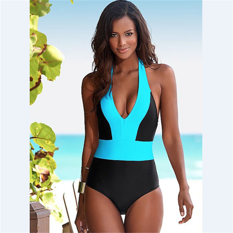 Sexy Women One Piece Swimsuit Swimwear Bathing Monokini Push Up Padded Bikini GLANE