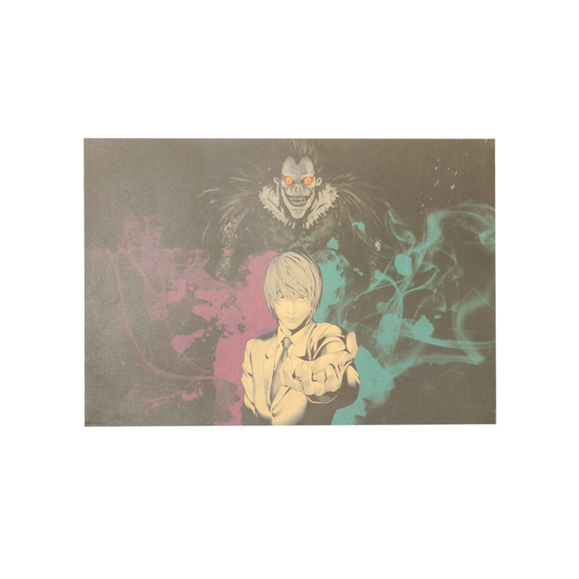 Death Note Kraft Paper Poster Decoration Painting Wall Stickers