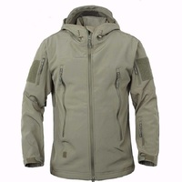 Outdoor Sports Men Upgraded Lurker Shark TAD 5 0 Soft Shell Tactical Military Waterproof Camouflage Fleece