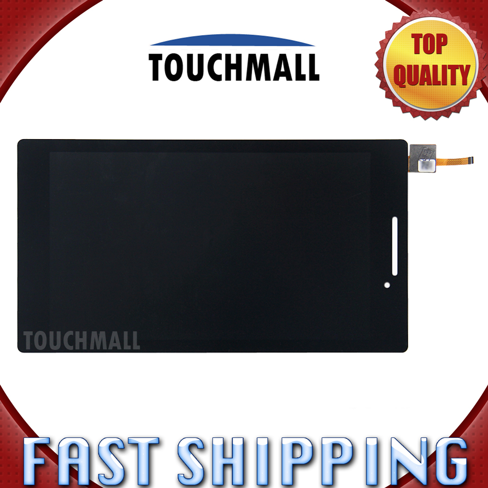 For New LCD Display Touch Screen Digitizer Glass Assembly Replacement Lenovo Tab 2 A7-10 a7-10f A7-10F A7-20 A7-20 Free Shipping пневмоинструмент wester sr10