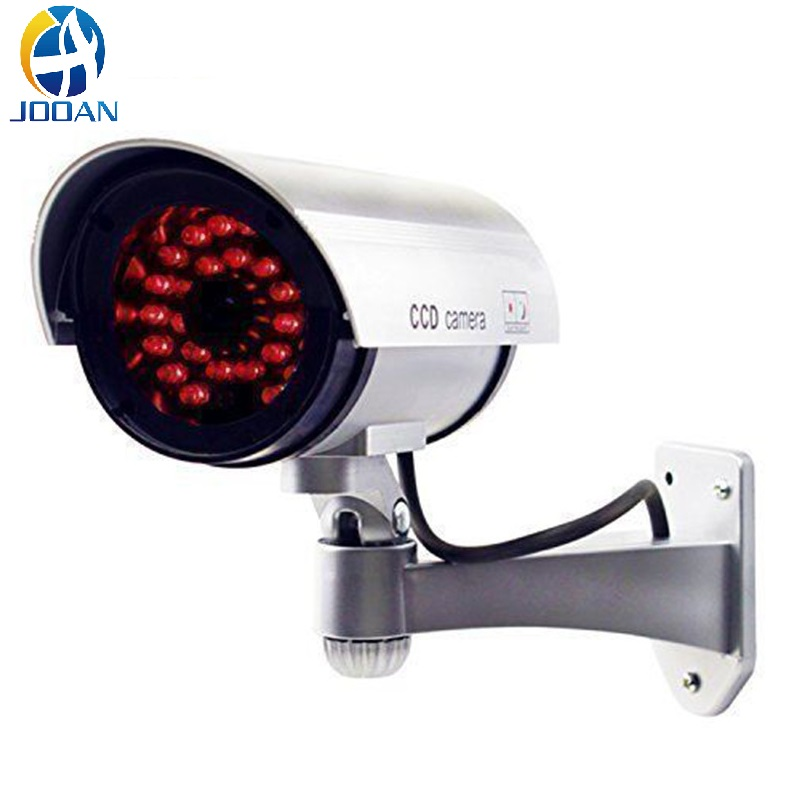 Fake Camera Dummy Waterproof Security CCTV Surveillance Camera With Infrared IR Led Light Outdoor Indoor Simulation Camera