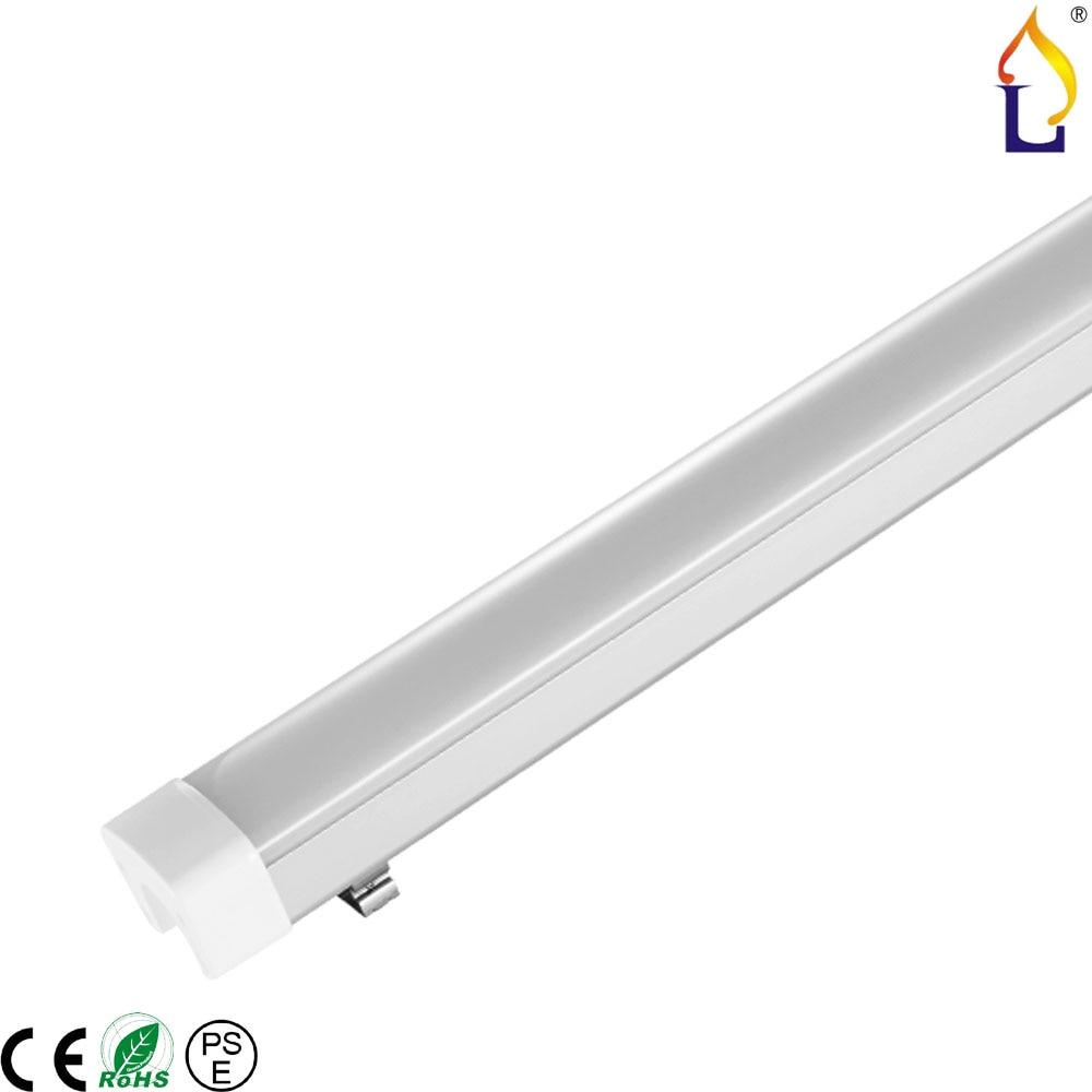 ФОТО 4ft led tri-proof light Dimmable 60W IP65 waterproof  LED car wash warehouse light tri proof light