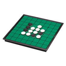 Children Chess Game Magnetic Fold Packable Reversi Othello Educational Board Toy for New Year Gift