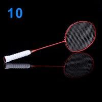 Ultralight 6U Badminton Racket Professional Carbon Portable Free Grips Sports B2Cshop