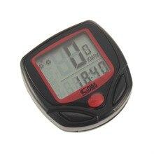 Odometer Bike Meter Speedometer Digital LCD Bicycle Computer Clock Stopwatch Cycling Riding Biking Equipment SDP ODO