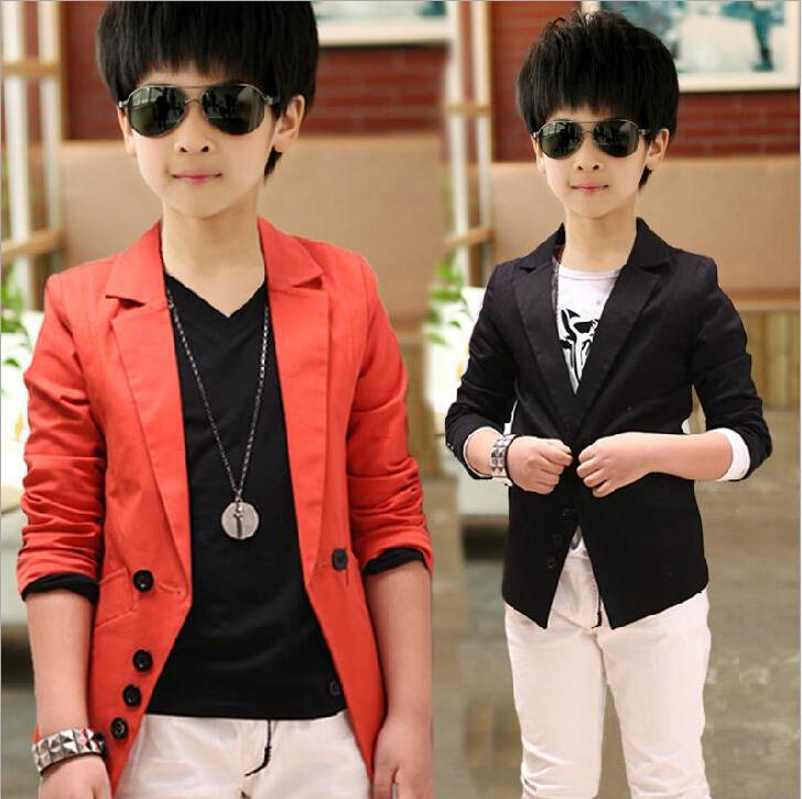 eba44b3da Children Casual Red Suits 2015 New Boys Jackets Korean Style Autumn ...