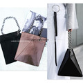 Designer Metallic leatherette Transformer Bag Purse Runway IT bag Bolsa