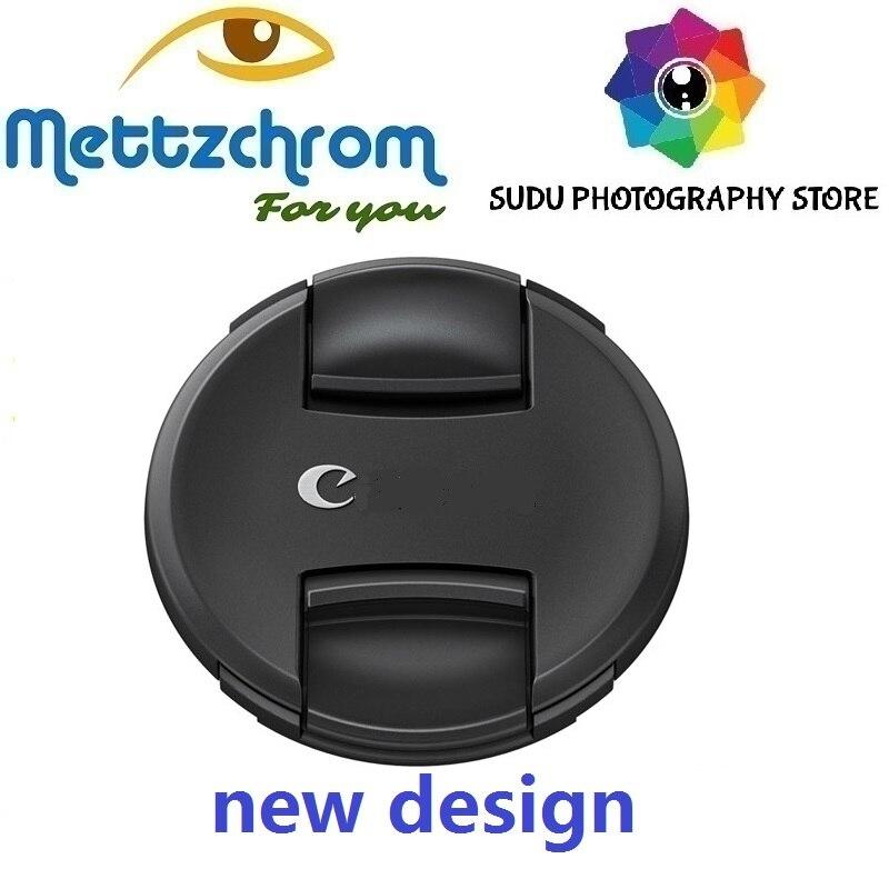 Capuchon d'objectif nouveau design 49mm 52mm 55mm 58mm 62mm 67mm 72mm 77mm 82mm nouveau design pour canon Sony Nikon bouchon d'objectif livraison gratuite