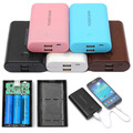 Popular Safety Dual 2 USB Power Bank Case Box Kit 3x18650 Battery Charger DIY Pro for iPhone universal for all Smart Cell Phones