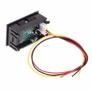 Image 4 - 2 in 1 LED Tachometer lehre Digitale RPM Voltmeter für Auto Motor Rotierenden Geschwindigkeit MAY25 dropship