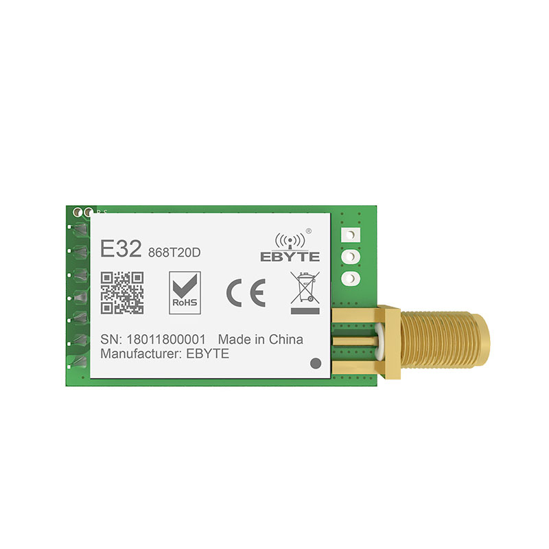 Image 2 - SX1276 TCXO 868MHz 20dBm LoRa UART ebyte E32 868T20D rf Long Distance SMA K Connector Transmitter Receiver Wireless rf Module-in Fixed Wireless Terminals from Cellphones & Telecommunications