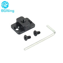 Camera Video Monitor Mounting Plate for Dji Ronin S Replace Mount M4 to1/4 Screw Adapter Extend Port for Monitor Magic Arm