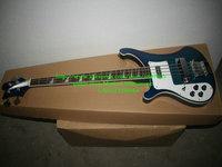 NEW Left hand Bass 4003 niebieski burst Gitara basowa Gitara Basowa HOT BASS