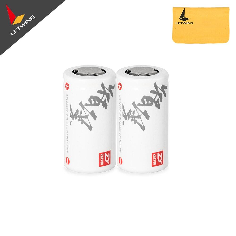 2 unids de 26500 Baterías para grúa de zhiyun y M estabilizador Gimbal envío gratuito