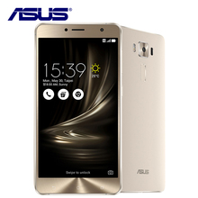 New Original Asus ZenFone 3 Deluxe ZS550KL Mobile Phone Qualcomm Octa Core 4G RAM 64G ROM 16MP Android 6.0 Dual SIM 5.5'' 4G LTE