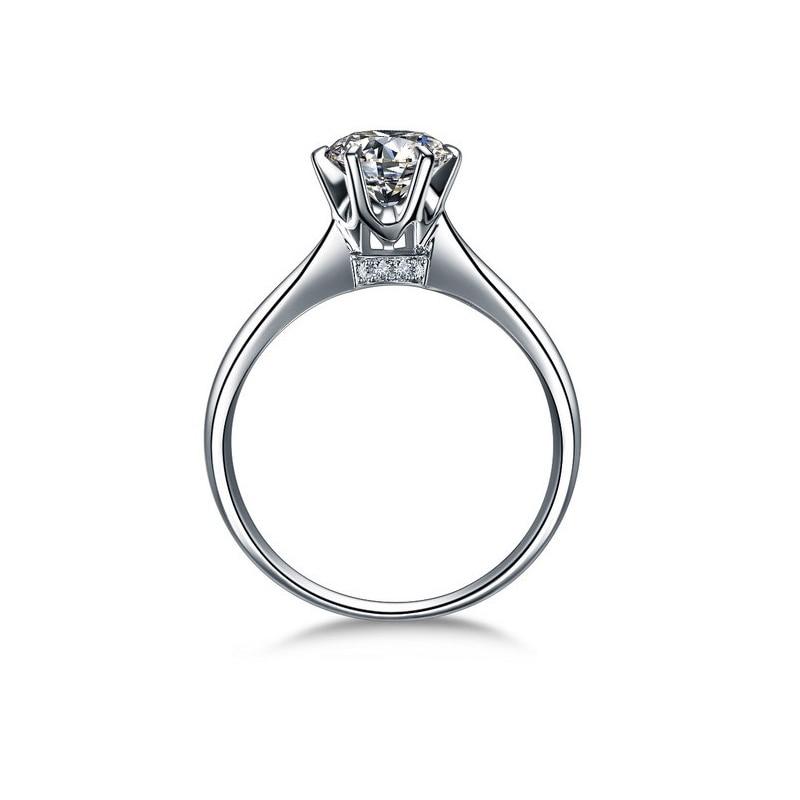 Online Get Cheap 1 Carat Diamond Solitaire Engagement Ring Aliexpress
