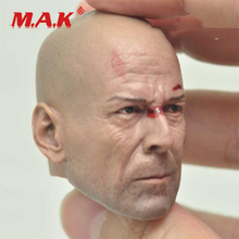 цена на High Quality 1:6 Scale Bruce Willis Die Hard Male Head Sculpt fit 12
